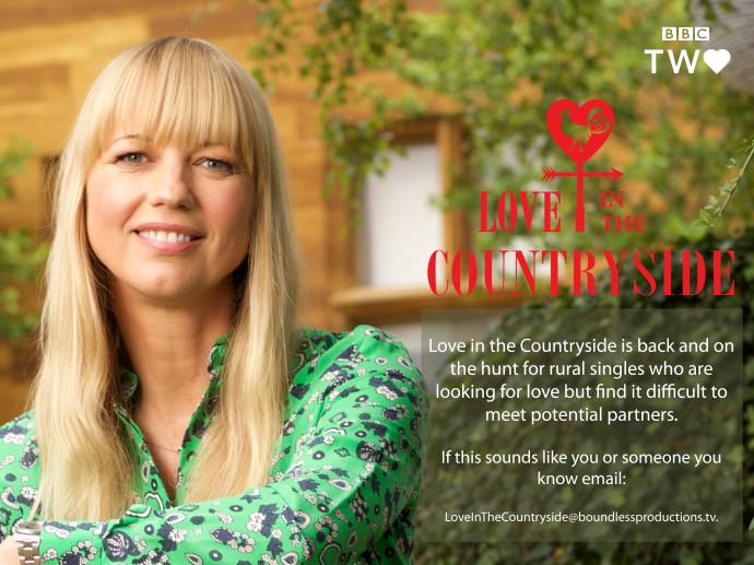 Love in the countryside flyer