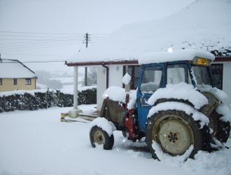 snow tractor